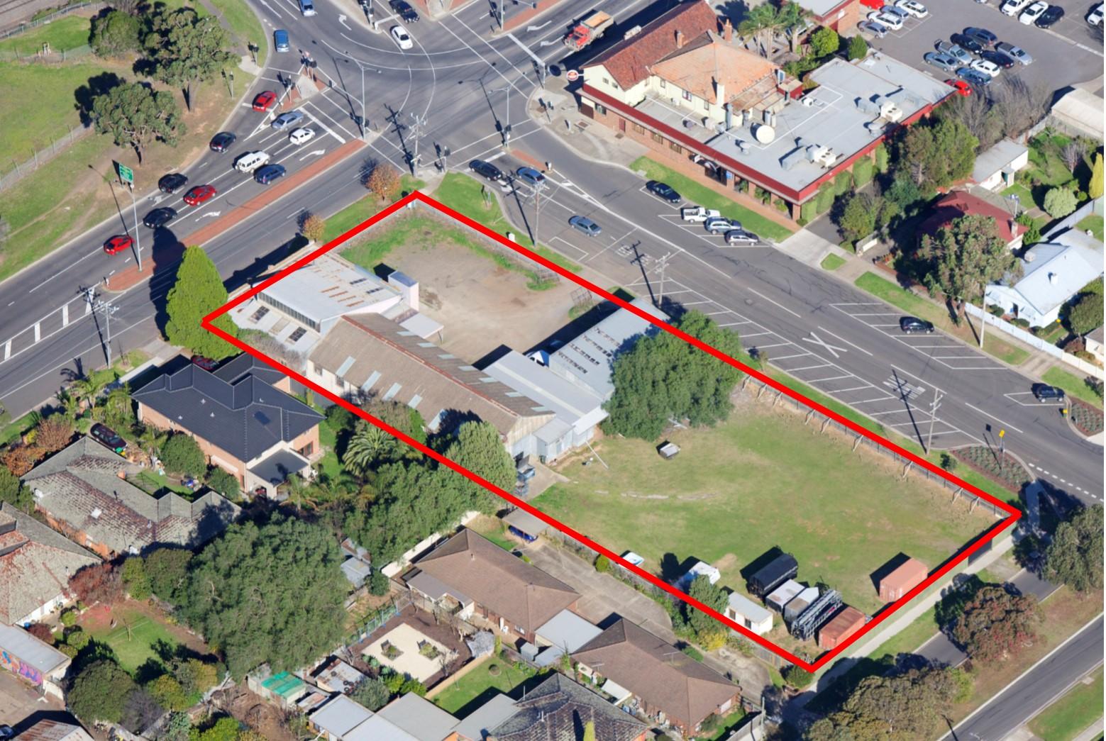 High Exposure Corner Development Site (4,000 m2)