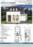 Lot 14 Byron Road LEPPINGTON  2179  NSW